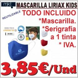 Mascarilla Liriax INFANTIL