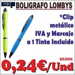 Bolígrafo Lombys