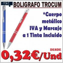 Bolígrafo Aluminio Trocum