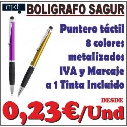 Bolígrafo puntero Sagur