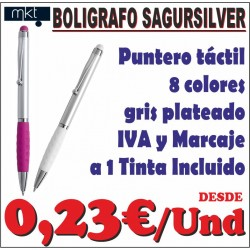 Bolígrafo puntero Sagursilver