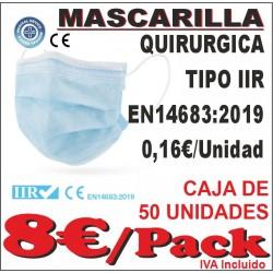 Mascarilla Quirúrgica Tipo IIR