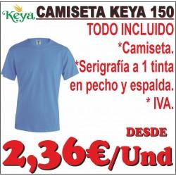 Camiseta Keya hombre 150