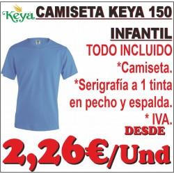 Camiseta Keya 150 Infantil