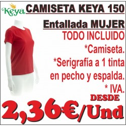 Camiseta Keya 150 Entallada...