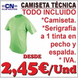 Camiseta Técnica Club Naútico
