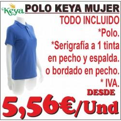 Polo Keya Mujer
